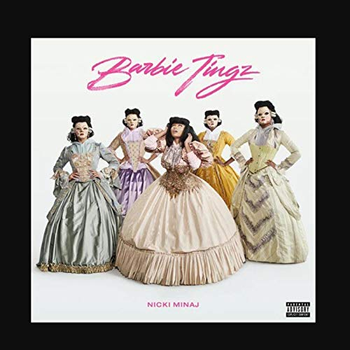 Nicki Minaj Barbie Tingz Rapper álbum de música popular póster lienzo pintura arte póster impresión hogar pared decoración de la sala de estar -60x80 pulgadas sin marco