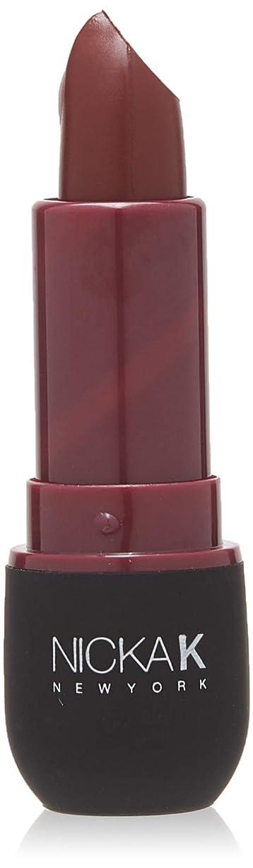 本部サスティーンシャーロットブロンテNICKA K Vivid Matte Lipstick NMS21 Violet Red (並行輸入品)