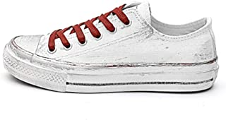 Zapatos de Lona de Las Mujeres de Color Mezclado Graffiti Lace Up Shallow Classic Classic Zapatillas de Deporte Mujer luz Exterior Ocio Zapatos Casuales