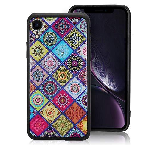『カバー、快適な手触りの電話ケース、TPU素材の衝撃吸収性デザインにより携帯電話を保護(iphone XR)』のトップ画像