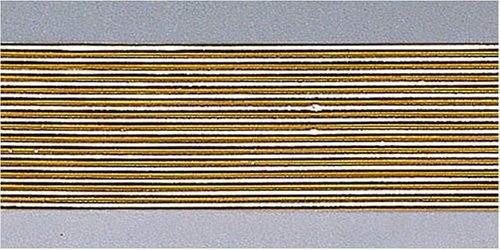 KnorrPrandell 8306028 Wachsstreifen, 2 mm/20 cm, gold