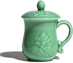 Pots Cups Ceramic Kung Fu Purple Clay Sets Old Mug Celadon Lotus Meditation Cup Ceramic Cup Gift Cup Office Cup Domicile L...