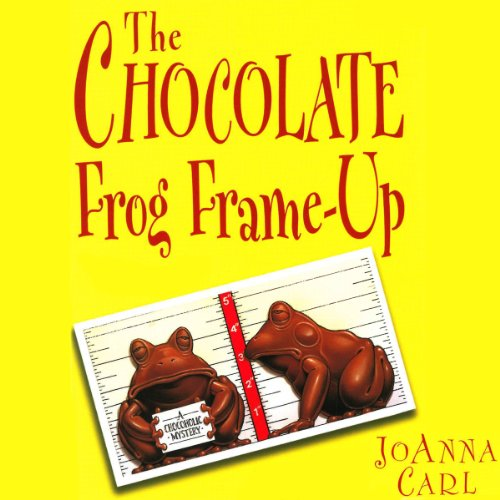 The Chocolate Frog Frame-Up audiobook cover art