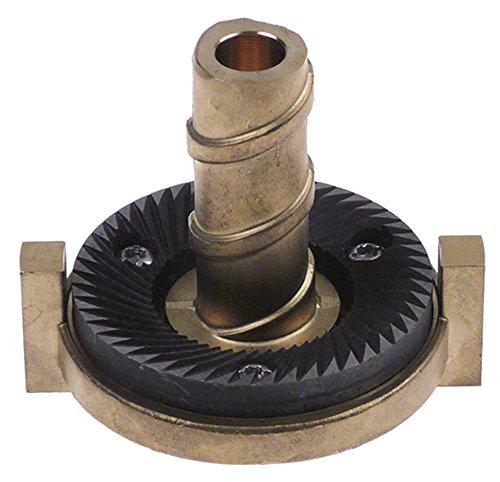 Santos Nr55 Support de moulin à café rotatif à droite Ø 82 mm Ø 12 mm EP en bas 76,5 mm