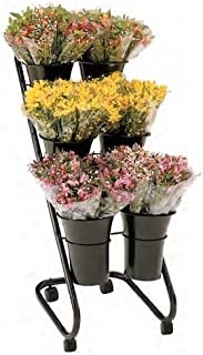 Floral Merchandising Systems FMS Bouquet Bucket Display, 28-1/2