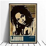 NRRTBWDHL Lauryn Hill Musik Sänger Poster Hip Hop Rap