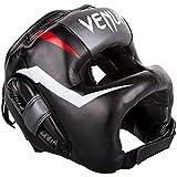 Venum Elite Iron Headgear - Black/Red - One Size