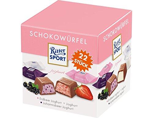 Ritter Sport Schokowürfel Joghurt, 176 g