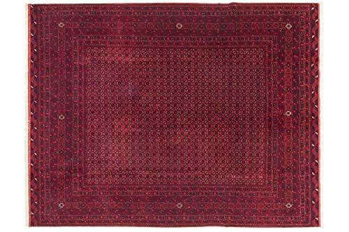 Afghan 390x300 cm Handgeknüpfter Teppich aus Afghanistan Orient 400 x 300