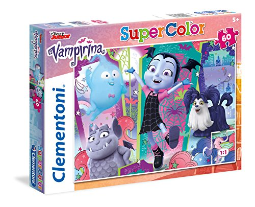 Clementoni Supercolor–Vampirina–60Piezas Puzzle, 26988, Multicolour