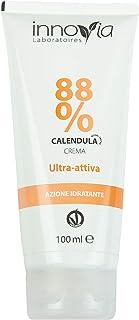 Crema alla Calendula 88% - 100ml - Indicata per Ustioni, Scottature, Irritazioni, Prurito e per Dermatiti - Perfetta per P...