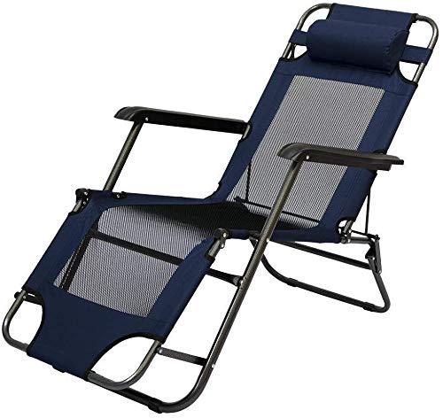 Sillas, camping y se puede mentir con sillón reclinable,Blue