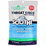 PACK OF 3 EACH SOOTHE THROAT DISCS