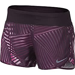 Purple Nike running shorts for women. The best solo female travel gear