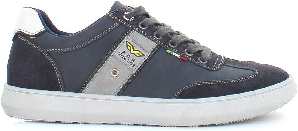 Armata di mare, scarpe per uomo,  sneakers basse, in pelle AMU W2M025