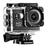 Waterproof Sports and Action Camera Features including digital video recording, photo shooting, audio recording, video display 900mAh Rechargeable lithium-ion battery