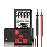 Ultra Portable Digital Multimeter Large 3.5' LCD 3-Line Display Voltmeter AC DC Voltage NCV Resisted Ohm Hz Tester