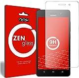 ZenGlass Flexible Glas-Folie kompatibel mit Huawei G Play Mini Panzerfolie I Bildschirm-Schutzfolie 9H