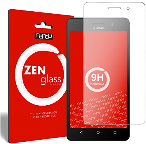 nandu I ZenGlass Pellicola Protettiva in Vetro Compatibile con Huawei G Play Mini I Protezione Schermo 9H