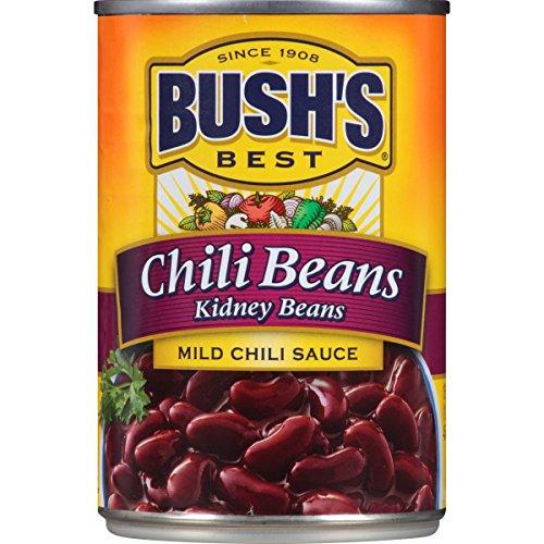 Bush's Best Mild Kidney Chili Beans, 16 oz (12 cans)