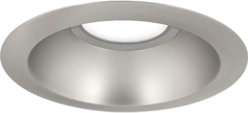 """new arrival Progress Lighting outlet sale P8071-09-30K Recessed 6"""" outlet sale LED Round Retrofit, 6 Inches, Brushed Nickel sale"""