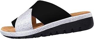 riou 2019 Nuevas Mujeres Cómodas Plataforma Sandalia Zapatos Romanas Verano Playa Viajes Zapatillas Moda Sandalias Cómodas...