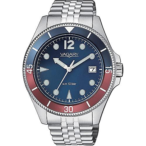 orologio solo tempo uomo Vagary By Citizen Aqua 39 casual cod. VD5-015-73