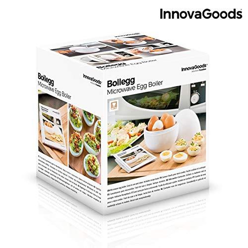 Innovagoods bb_V0101051 Cuecehuevos Para Microondas Con Recetario ...