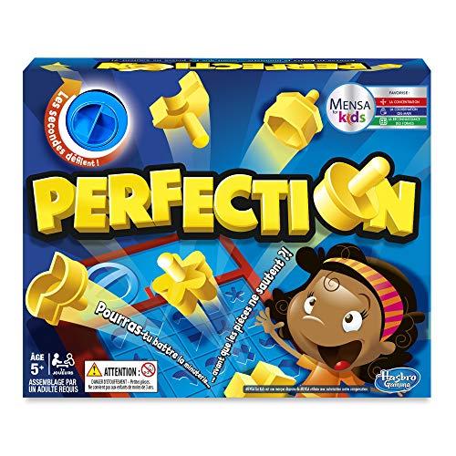 Hasbro Perfection – Juego de Societe – Juego de Velocidad – Versión...