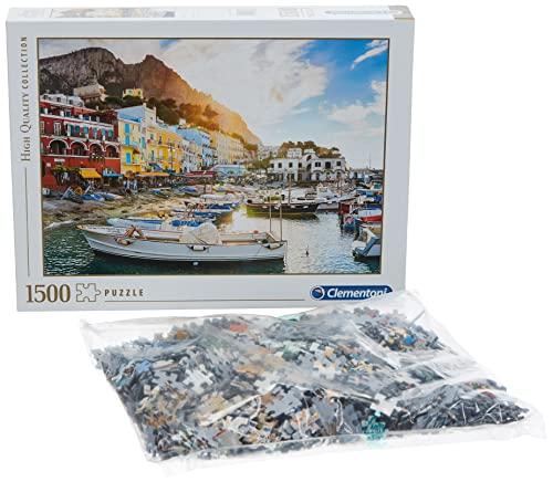 Oferta de Clementoni- Collection: Capri Los Pingüinos De Madagascar Puzzle, 1500 Piezas, Multicolor (31678)