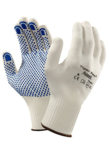 Ansell Tiger Paw 76-301 multifunctionele handschoenen, mechanische bescherming, natuurlijke kleuren, 7, natuurlijke kleuren, 12