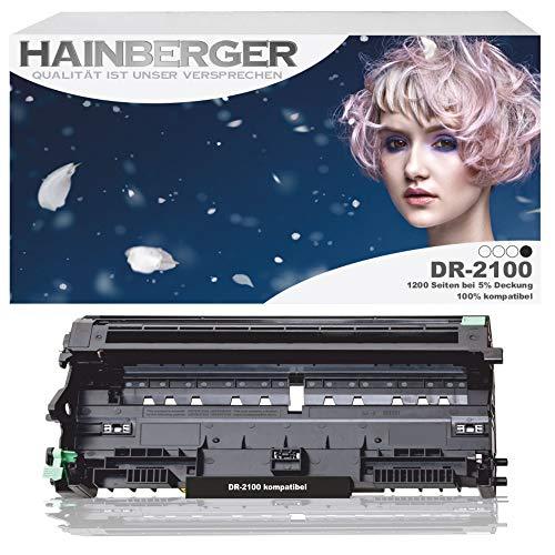 Hainberger Trommeleinheit für DR-2100 - Schwarz,12.000 Seiten, kompatibel zu DR-2100
