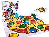 BSD Action und Reflex Spiel - Bodenspiel - Twister Spielmatte