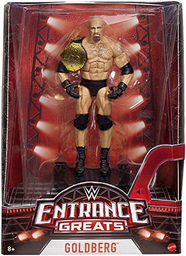WWE Goldberg Eingang Toll Elite Figur Wrestling Mattel