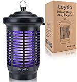 Bug Zapper, 4200V High Powered Electric Mosquito Killer, Fly Insect Trap Indoor and Outdoor, Mosquito Trap with 15W Mosquito Lamp Bulb for Home Backyard, Patio, Bedroom, Kitchen, Office