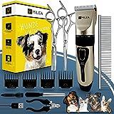 Milea Akku Hundeschermaschine − Geräuscharme Schermaschine Hund & Katze − Kabellose Tierhaarschneidemaschine − Leise & sanfte Hundehaarschneidemaschine
