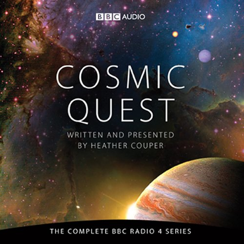 Cosmic Quest audiobook cover art