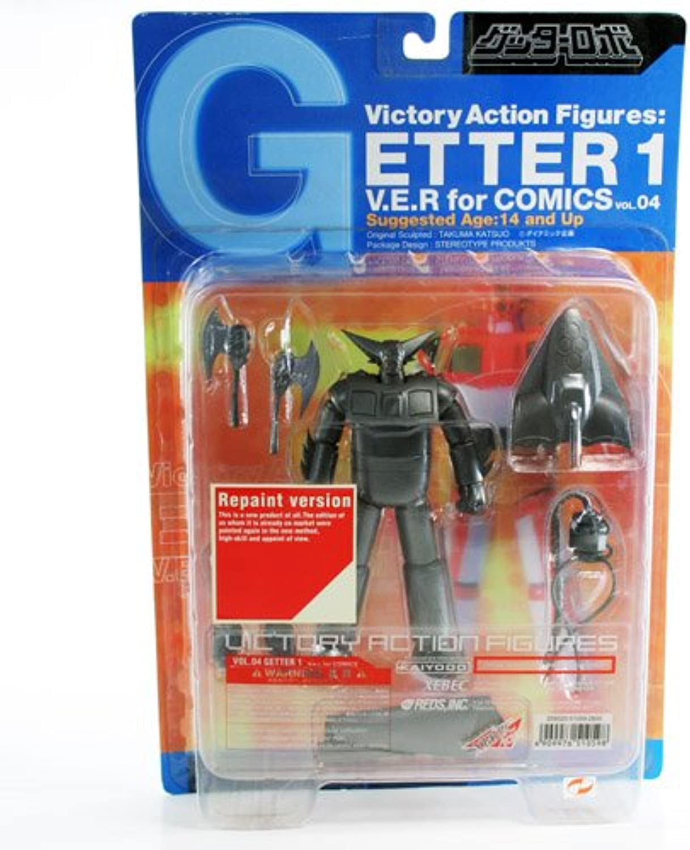 Getter 1 Comic Version Figure - Vol 4 [Toy] (japan import)