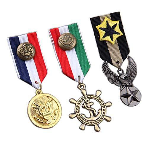 Mens One Size Bristol Novelty BA584 Military Medal