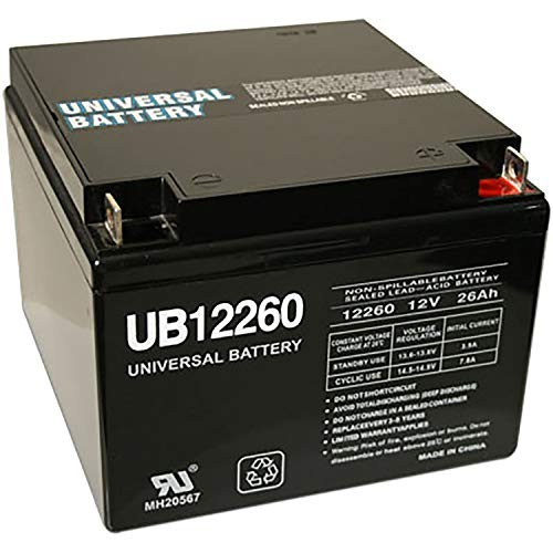 Universal Power Group 26 AH SEALED 12 VOLT DEEP - CYCLE RECHARGEABLE BATTERY