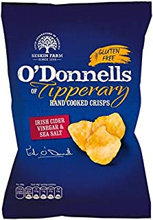 O Donnells Authentic Hand Cooked Tipperary Crisps (Irish Cider Vinegar and Sea Salt)