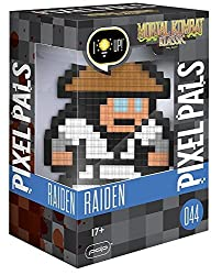 Light up pixel-art renditions of iconic characters Features collectible characters AAA battery powered (Batteries not included)