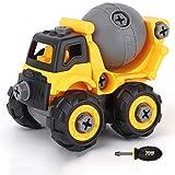 Asamblea escritorio del Kit de juguete niños de la decoración del coche del coche Ingeniería 1-3-6 Años de Edad Desmontaje montaje y coches de juguete excavadora de juguete Construcciones conjunto ide