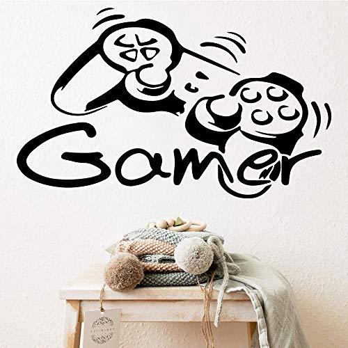 Yaonuli muurstickers speler, creatieve muurstickers gepersonaliseerd voor kinderen
