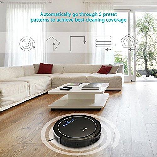 INLIFE Robot aspirador automático limpia todo tipo de suelos ...
