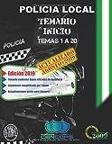Temario Inicio Policía Local de Andalucía: Temas 1 a 20