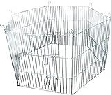 FLAMINGO Cage pour Rongeur Lapin 60 x 60 cm