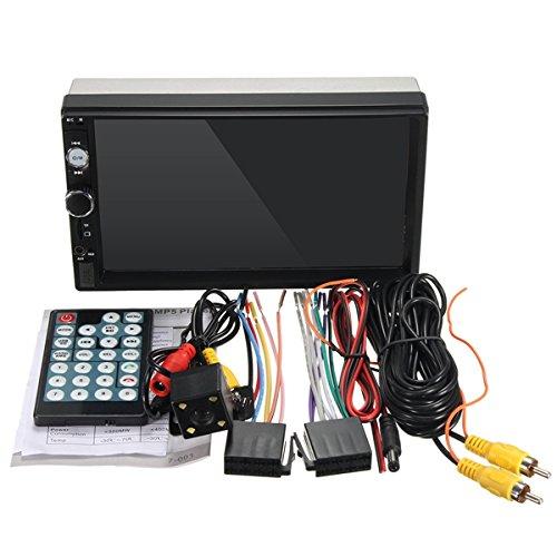 C-FUNN 7010B 7 Pouces Voiture Stéréo Radio Mp5 Mp3 Lecteur FM USB Aux Full HD Bluetooth Écran Tactile Vue Arrière Caméra
