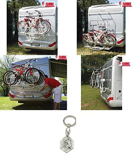 Zisa 932988441040 - Portabicicletas trasero para 2 bicicletas Cristóbal