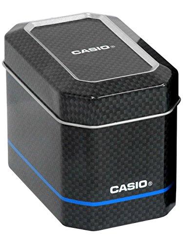 Casio WAVE CEPTOR Reloj Radiocontrolado y solar, Cristal de zafiro, Caja sólida de acero inoxidable, Azul, para Hombre, con Correa de Acero macizo, LCW-M100DSE-2AER